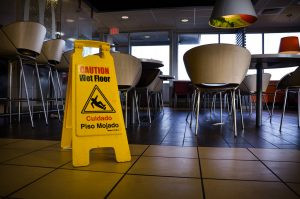 $2 Million jury verdict after man injures shoulder in slip and fall at restaurant