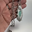 Thumbnail: Chrysoprase and blue topaz pendant with handcrafted sterling silver chain