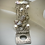 Thumbnail: White Pearls Menagerie Multistrand Bracelet