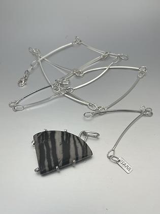 Sterling Silver Long Lines Versatile Necklace