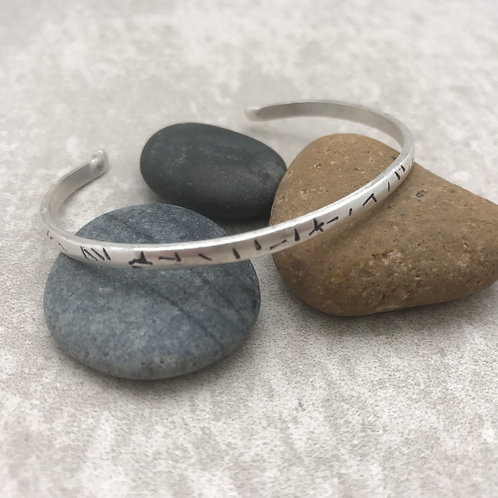 Sweet and Simple Sterling Cuff