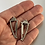 Thumbnail: Sterling Silver Modern Triangular Post earrings