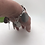 Thumbnail: Smashed Coins Sterling Charm Bracelet