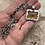 Thumbnail: One of a kind Bezel set Lemon Quartz and Sterling silver Pendant and Chain