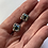 Thumbnail: Aurora Borealis Swarovski Crystal Bezel Set Post Earrings