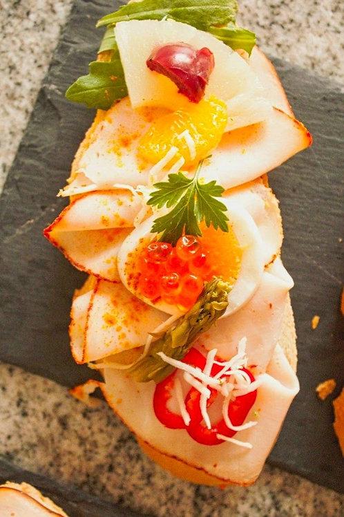 Hühnerschinken/Chili