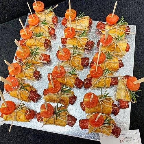 Würstchen im Blätterteig