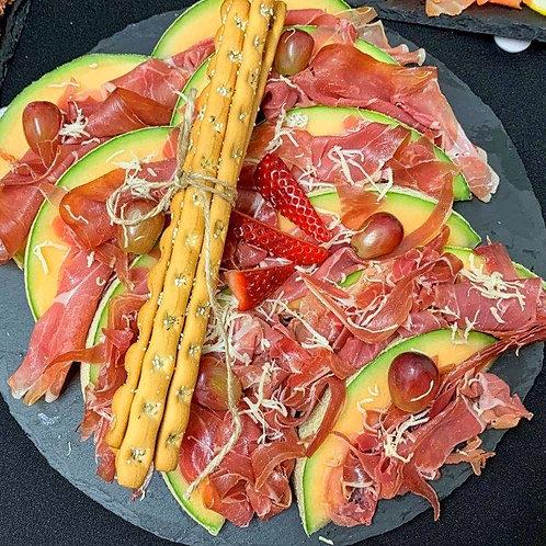 Prosciutto und Melone