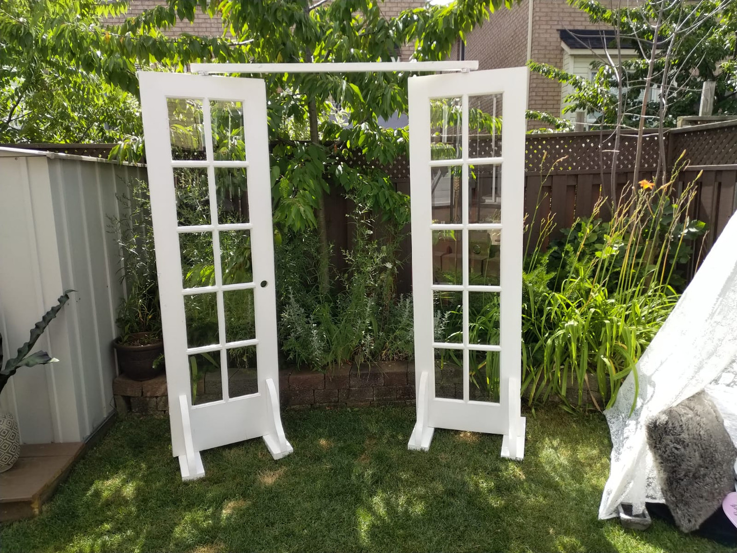 French Door Arbour