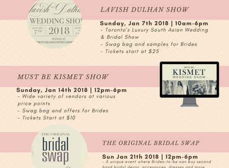 The Ultimate Bridal Show Calendar & Guide