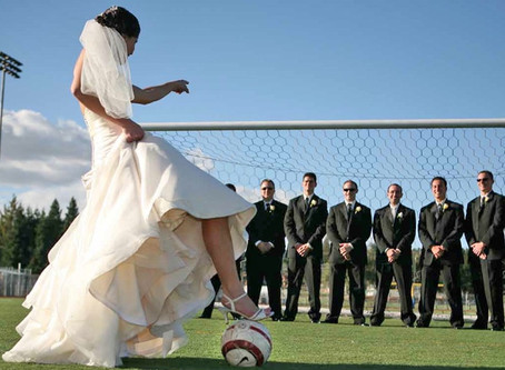 How To Plan A Soccer World Cup Theme Wedding – And Still Be Classy!