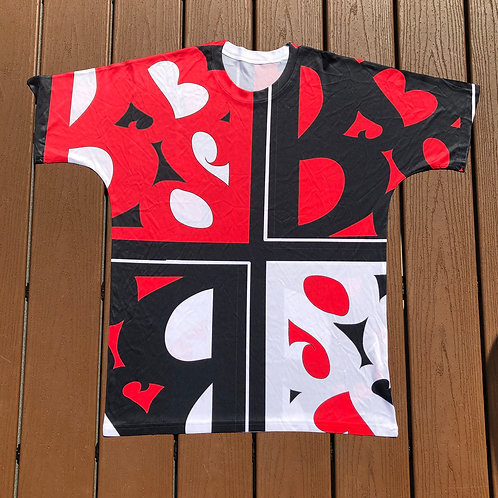 Graphic Logo Red Shirt