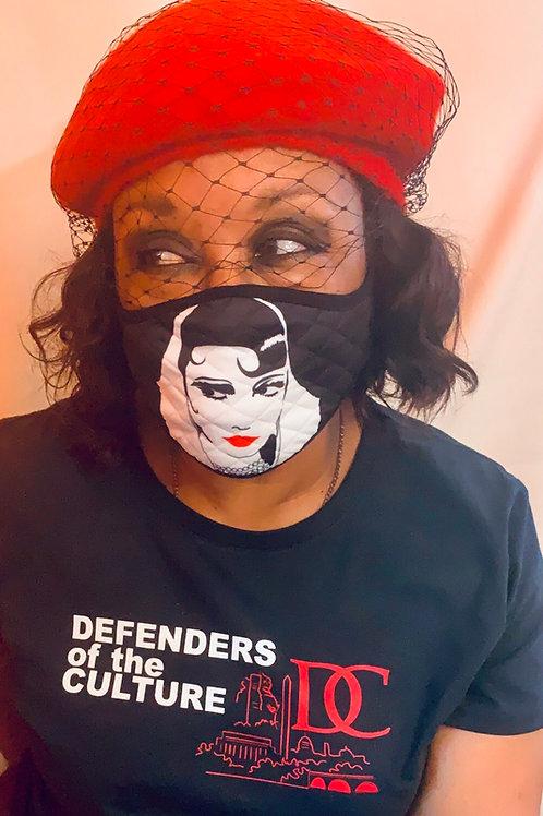 Eyeconic/No Lipstick Needed Face mask