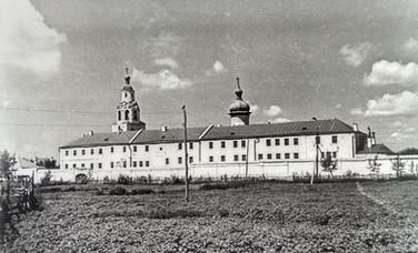 Успенский монастырь – место размещения ИТК №5. Свияжск. Середина ХХ