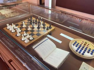 Мини-выставка «Шахматы и не только»