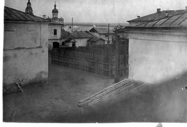 Внутренний двор тюрьмы №8 Свияжск. 1940-е Архив МВД РТ