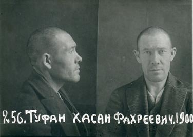 Х. Туфан Фото из следственного дела. 1940 Государственный архив РТ