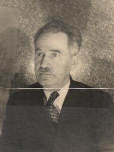 Ф.П. Миллер. Начало 1950-х Из семейного архива