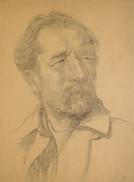 Автопортрет А.Г. Лошадкина. 1930-е