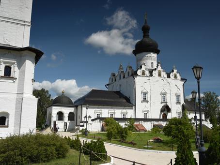 Освящение Успенского собора Свияжского монастыря