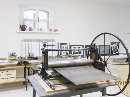 Арт - резиденция для художников-графиков и живописцев