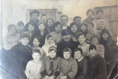 Воспитанники школы для слепых детей Свияжск. Конец 1930-х