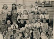 Воспитанники детского сада. Свияжск. Начало 1950-х Из архива семьи Ивановых