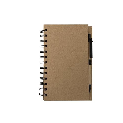 Caderno de Anotações com Autoadesivos e Caneta II