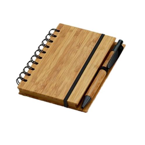 Caderno A6 com Caneta Esferográfica