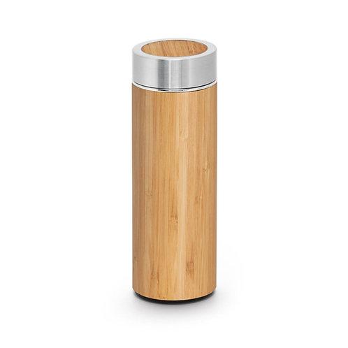 Garrafa Térmica de Bambu