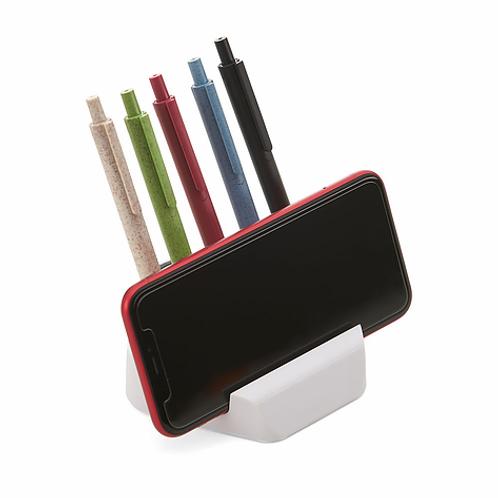 Suporte para Telefone Celular; Porta lápis/clipes