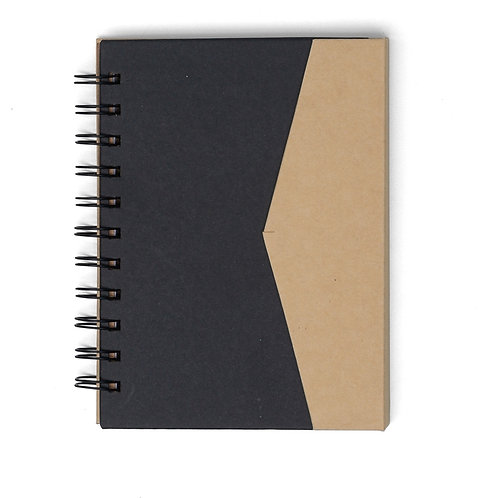 Caderno de Anotações com Autoadesivos