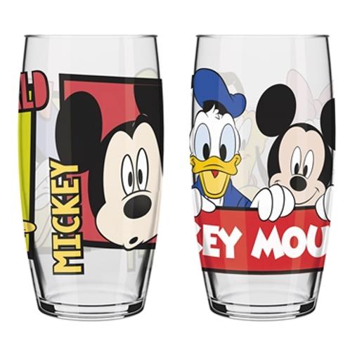 Jogo de Copo Disney Mickey and Friends 300ml