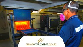Gran Colombia Gold anuncia resultados de producción del tercer trimestre de 2021
