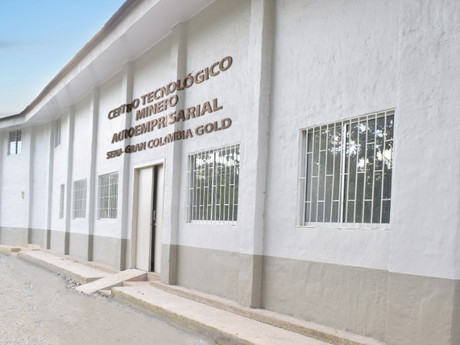 Gran Colombia Gold entrega sede al SENA, para promover la minería responsable en el nordeste