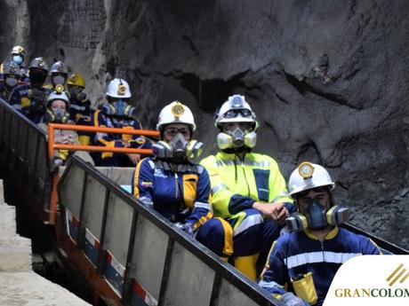Gran Colombia Gold inaugura una elevadora de personal en la mina Sandra K