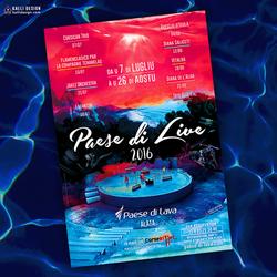 Visuel Festival PAESE di LIVE