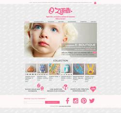Création site e-commerce O ZITELLI