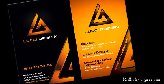 Carte de visite Lucci Design