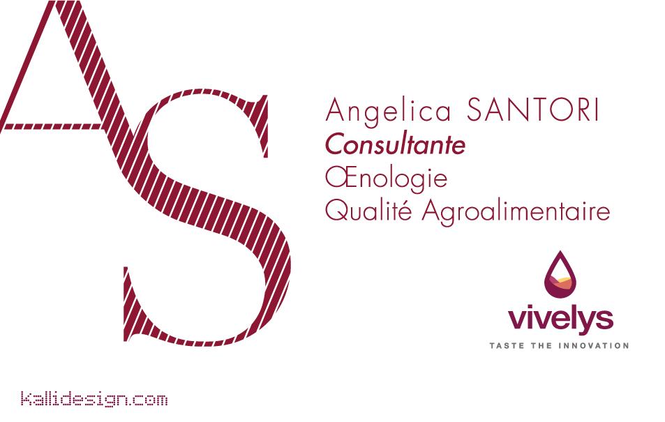 Identité visuelle - Angelica Santori