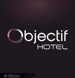 Identité visuelle OBJECTIF HOTEL