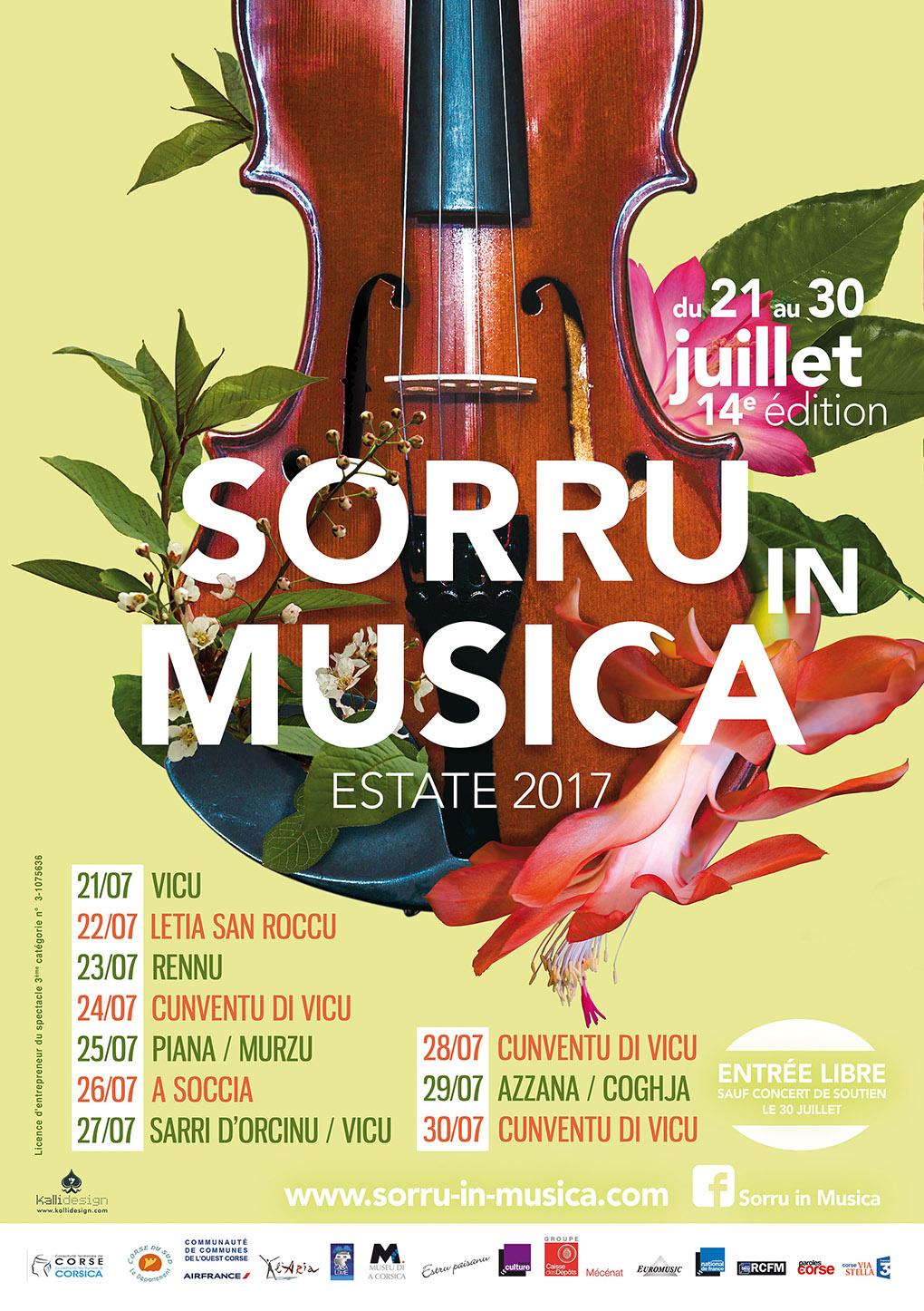 Sorru in Musica 2017