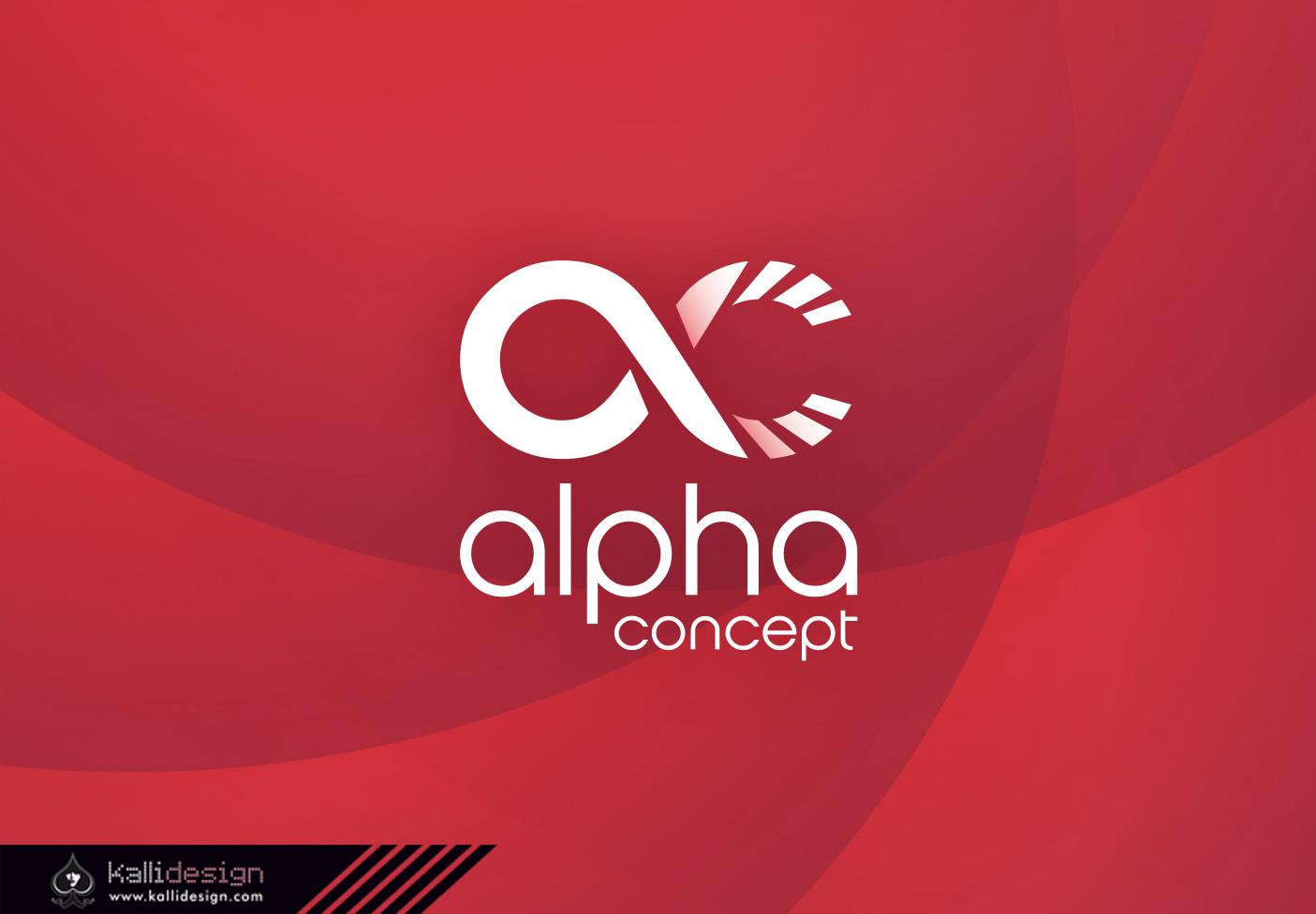 Identité visuelle ALPHA concept