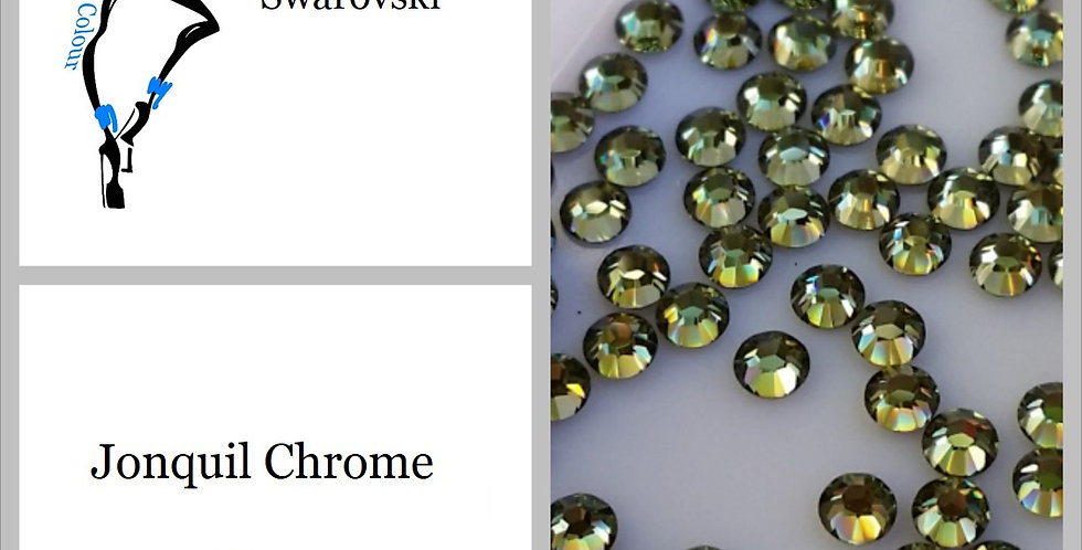 Jonquil Chrome - Flat Back