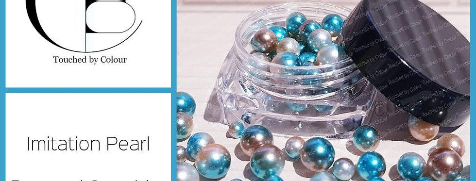Bronzed Sapphire - Imitation Pearl