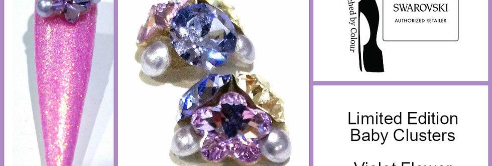 Baby Cluster - Violet Flower