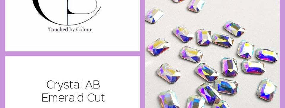 Emerald Cut - Crystal AB - Specialty Shape