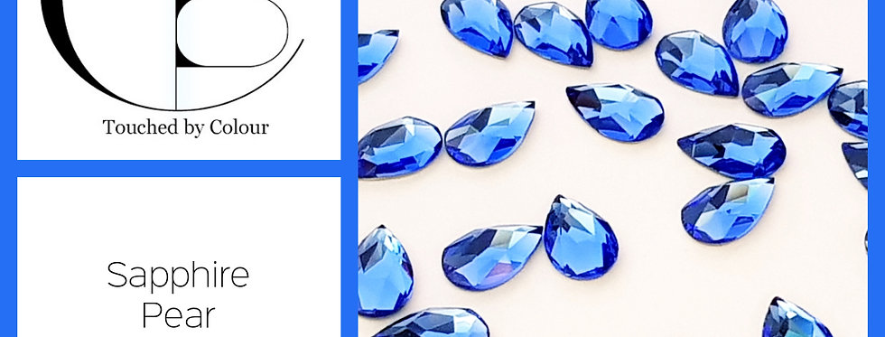 Pear - Sapphire - Specialty Shape