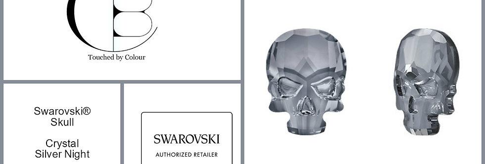 Skull - Silver Night - Specialty Shape
