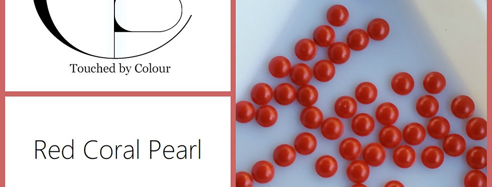 Red Coral Pearl